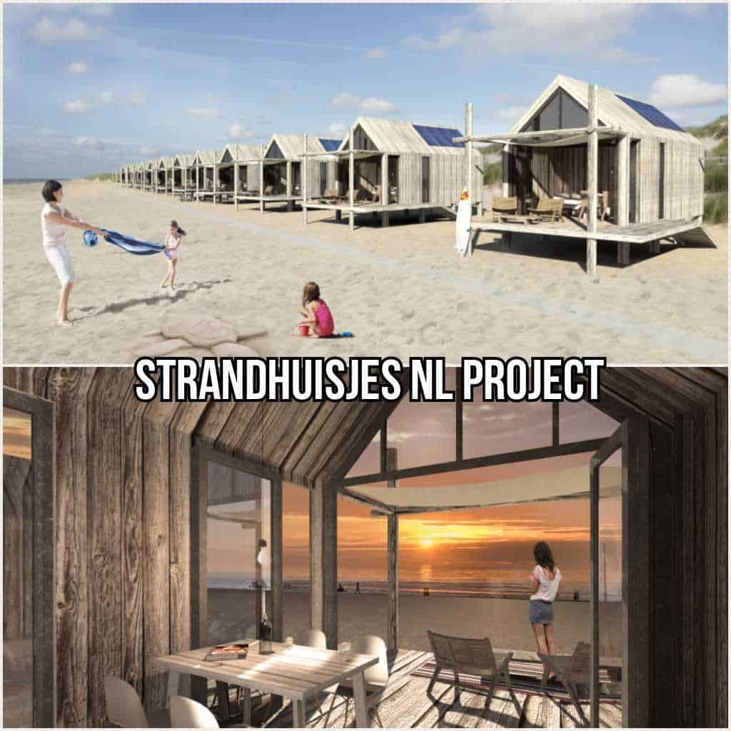 Project Strandhuisjes Sluis (Cadzand, Nieuwvliet of Groede)